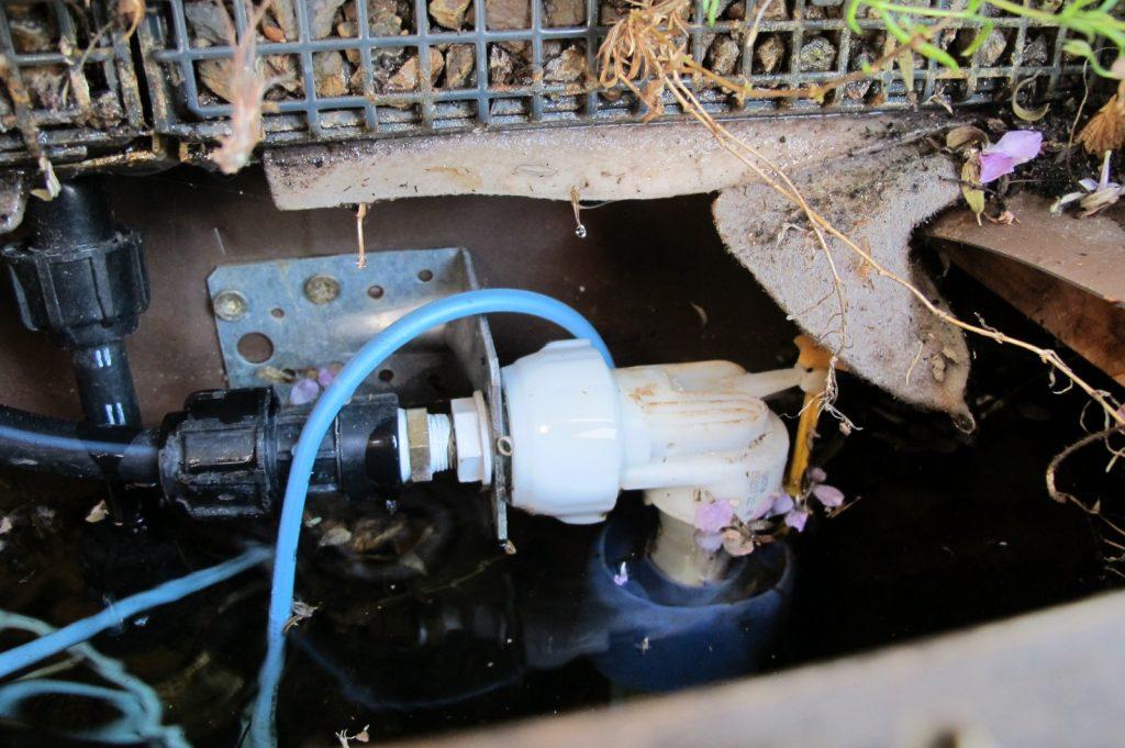 Pumpe im Tank des Kassettensystems