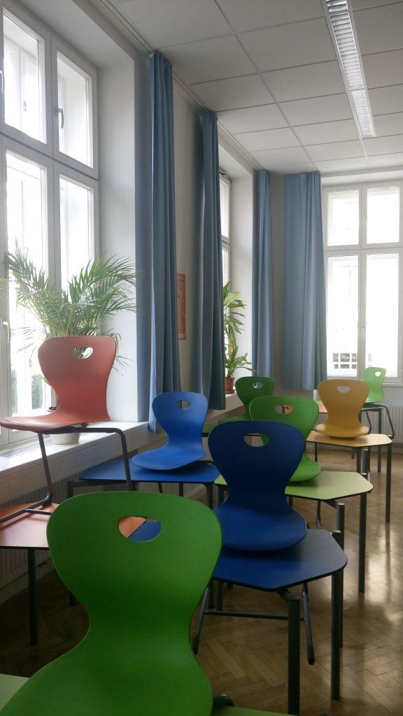 Open House Wien - eigens begrünte Klasse