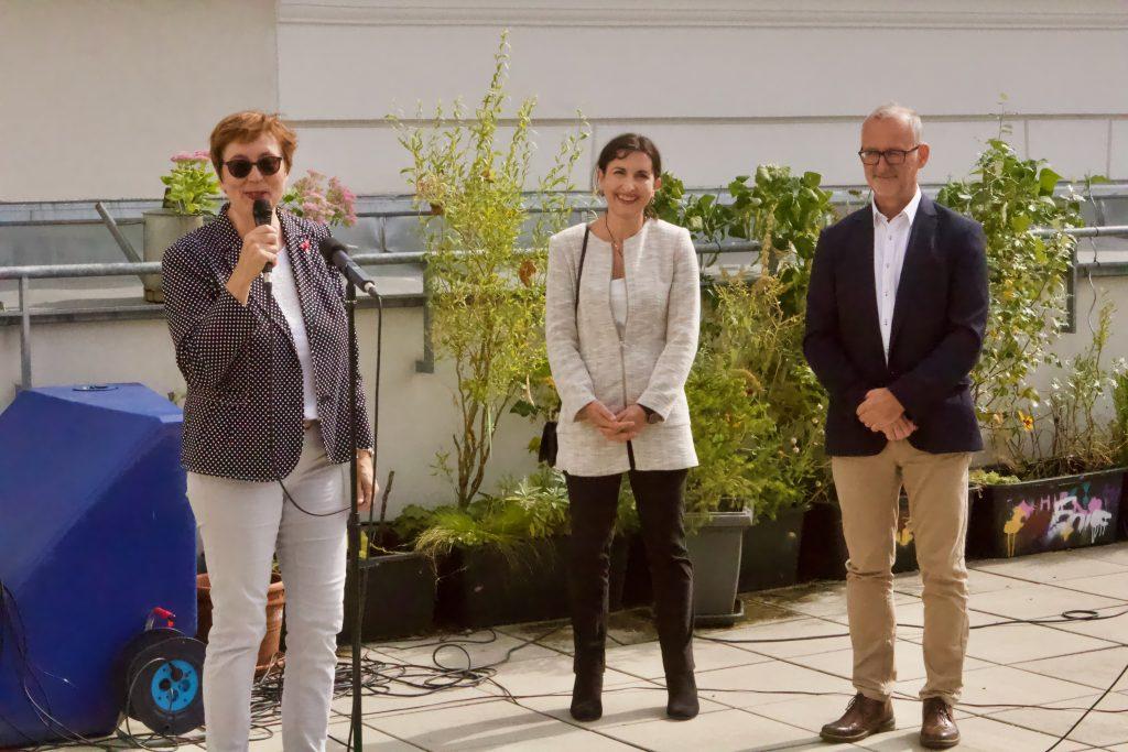 GZS_Open House Vernetzung_Begrüßung durch Theresia Vogel