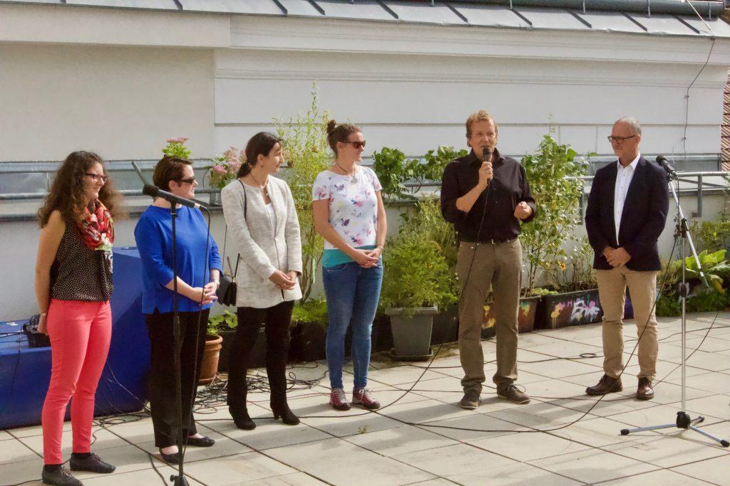 GZS_Open House Vernetzung_Begrüßung durch das Projektteam